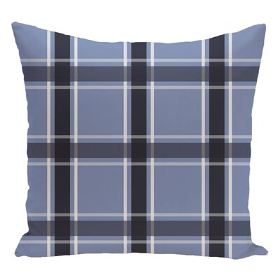 Decorative Floor Pillow Color: Navy Blue/Light Blue