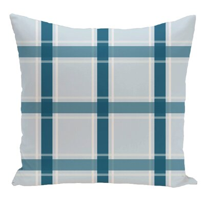 Decorative Floor Pillow Color: Teal/Light Blue