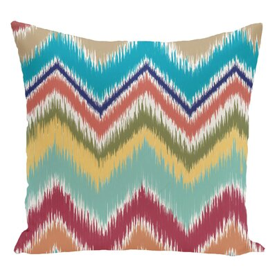 Chevron Decorative Floor Pillow Color: Beach