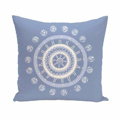 Coastal Calm Geometric Throw Pillow Size: 20