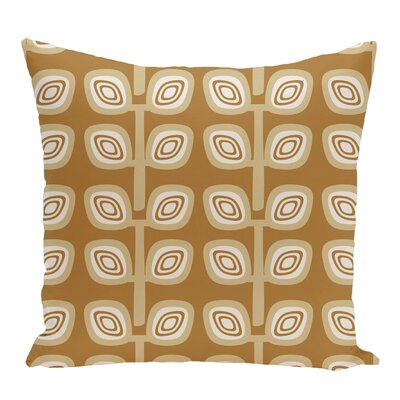 Nunam Geometric Print Throw Pillow Size: 20 H x 20 W, Color: Gold