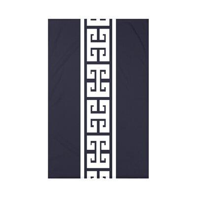 Nautical Nights Key Stripe Throw Blanket Size: 60