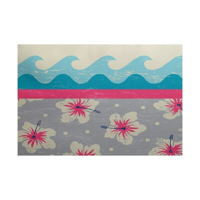 Golden Beach Indoor/Outdoor Area Rug Rug Size: 2 x 3