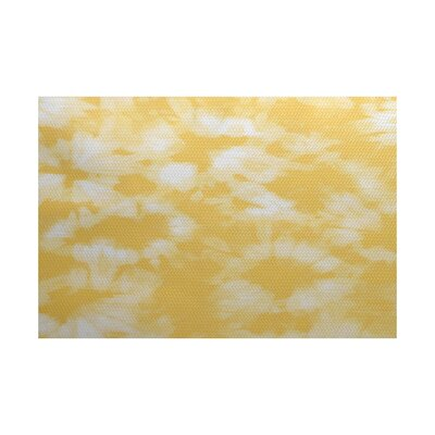 Pembrook Yellow Indoor/Outdoor Area Rug Rug Size: 2 x 3