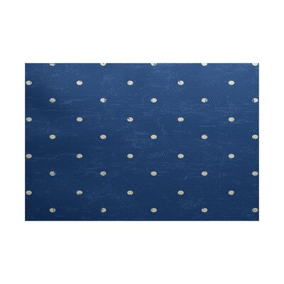 Pembrook Blue Indoor/Outdoor Area Rug Rug Size: 3 x 5
