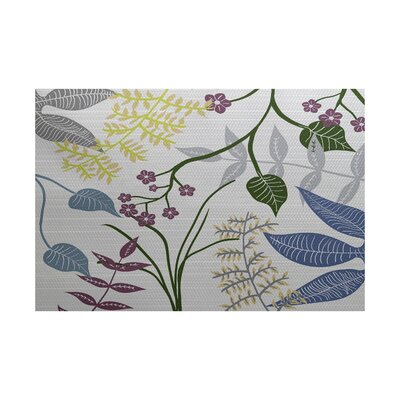 Orchard Lane Gray Indoor/Outdoor Area Rug Rug Size: 5 x 7