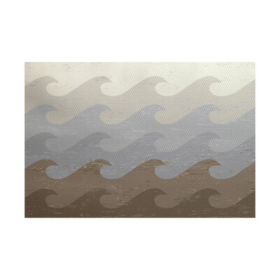 Golden Beach Indoor/Outdoor Area Rug Rug Size: 5 x 7