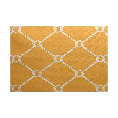 Bridgeport Yellow Indoor/Outdoor Area Rug Rug Size: 3 x 5