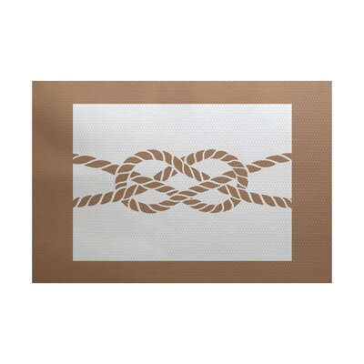 Hancock Beige Indoor/Outdoor Area Rug Rug Size: Rectangle 3 x 5