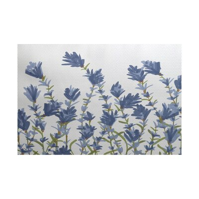 Orchard Lane Blue Indoor/Outdoor Area Rug Rug Size: 2' x 3'