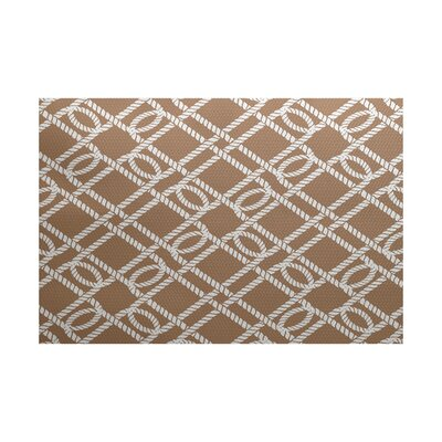 Bridgeport Taupe Indoor/Outdoor Area Rug Rug Size: 5 x 7