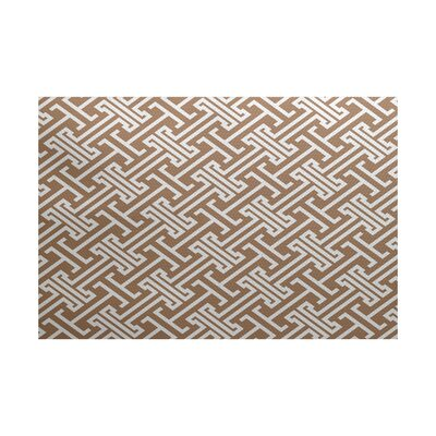 Hancock Taupe Indoor/Outdoor Area Rug Rug Size: 4 x 6
