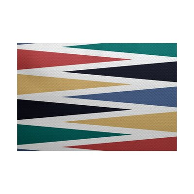 Boubacar Backgammon Indoor/Outdoor Area Rug Rug Size: Rectangle 3 x 5
