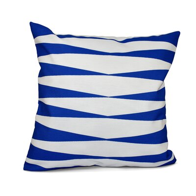 Jennifer Faux Down Fill Throw Pillow Size: 18 x 18, Color: Royal Blue