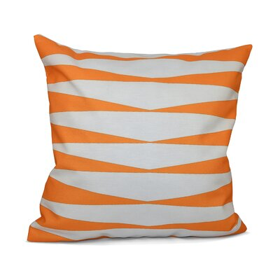 Jennifer Faux Down Fill Throw Pillow Size: 18 x 18, Color: Celosia Orange