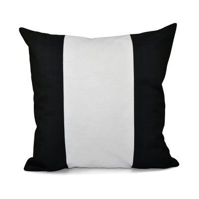 Big Stripe Vertical Decorative Throw Pillow Size: 16 H x 16 W