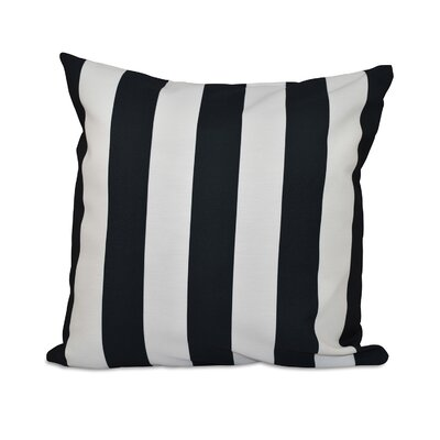 Classic Stripe Throw Pillow Size: 18 H x 18 W
