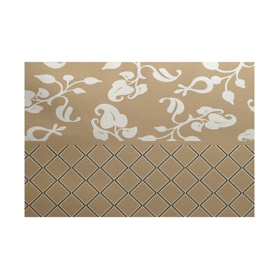 Brown Indoor/Outdoor Area Rug Rug Size: 5 x 7
