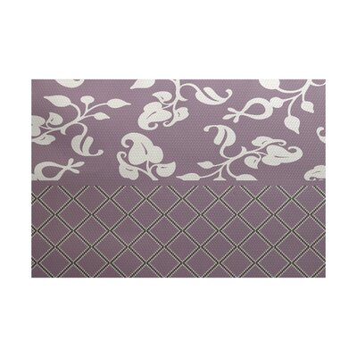 Fairdale Purple Indoor/Outdoor Area Rug Rug Size: 5 x 7