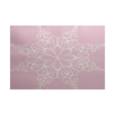 Pink Indoor/Outdoor Area Rug Rug Size: 4 x 6