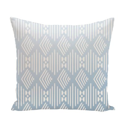 Andice Fishbones Geometric Print Throw Pillow Size: 16 H x 16 W x 1 D, Color: Washed Out