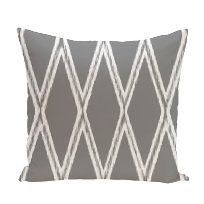Gate Keeper Geometric Print Throw Pillow Size: 16