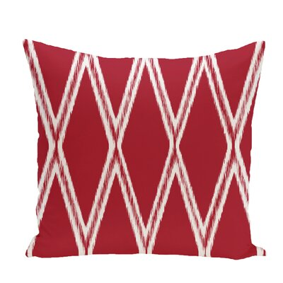 Gate Keeper Geometric Print Throw Pillow Size: 20 H x 20 W x 1 D, Color: Formula One