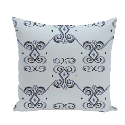 On the Line Geometric Print Throw Pillow Size: 16 H x 16 W x 1 D, Color: Washed Out