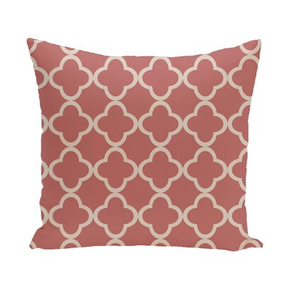 Marrakech Express Geometric Print Throw Pillow Size: 26 H x 26 W x 1 D, Color: Seed