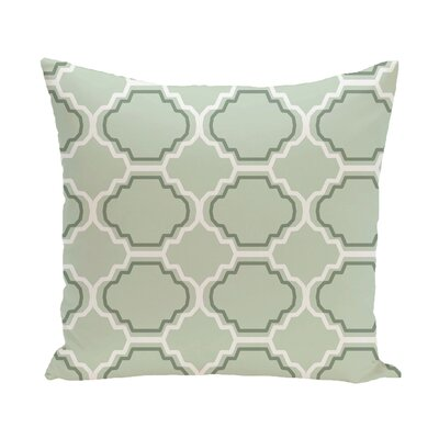 Road to Morocco Geometric Print Throw Pillow Size: 16 H x 16 W x 1 D, Color: Half Pint