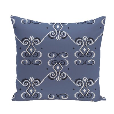 On the Line Geometric Print Throw Pillow Color: Cadet, Size: 20 H x 20 W x 1 D
