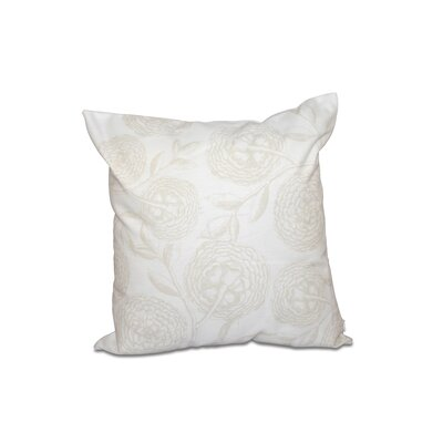 Esther Outdoor Pillow Size: 18 H x 18 W, Color: White