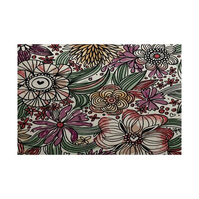 Natahsa Purple Indoor/Outdoor Area Rug Rug Size: 3 x 5