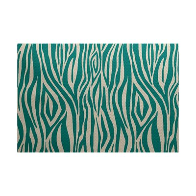 Kam Jade Indoor/Outdoor Area Rug Rug Size: 4 x 6