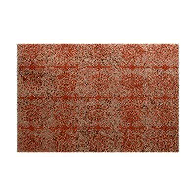 Soluri Orange/Rust Indoor/Outdoor Area Rug Rug Size: Rectangle 2 x 3