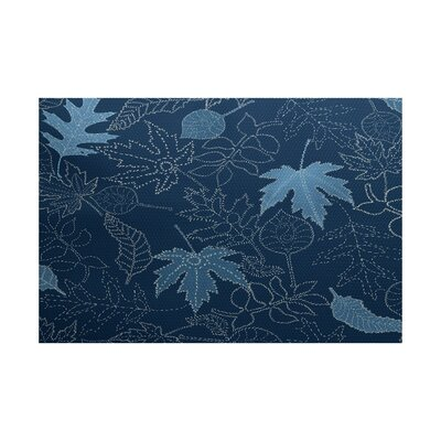 Miller Blue Indoor/Outdoor Area Rug Rug Size: 4 x 6