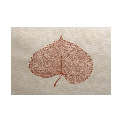 Miller Rust Indoor/Outdoor Area Rug Rug Size: 3 x 5