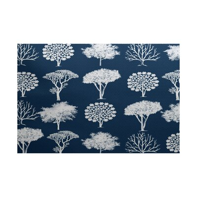 Ingaret Blue Indoor/Outdoor Area Rug Rug Size: Rectangle 2' x 3'