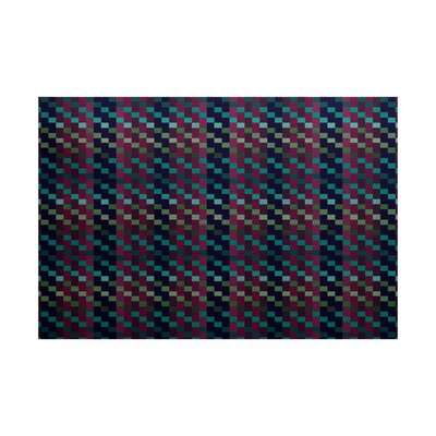 Liam Purple Indoor/Outdoor Area Rug Rug Size: 2 x 3
