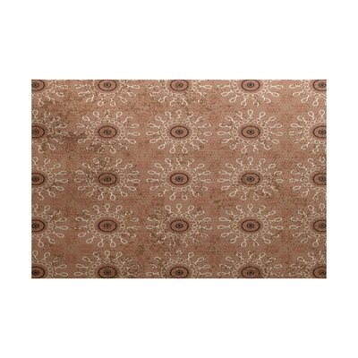 Soluri Taupe Indoor/Outdoor Area Rug Rug Size: 3 x 5