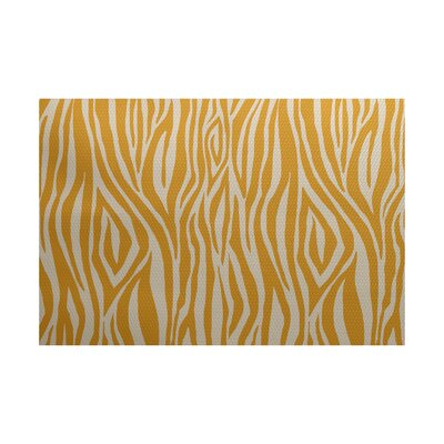 Kam Gold Indoor/Outdoor Area Rug Rug Size: 4 x 6