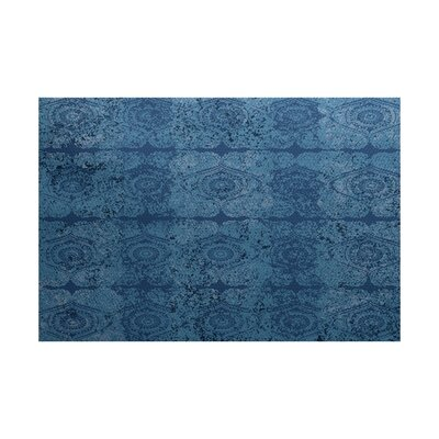 Soluri Blue Indoor/Outdoor Area Rug Rug Size: 4 x 6