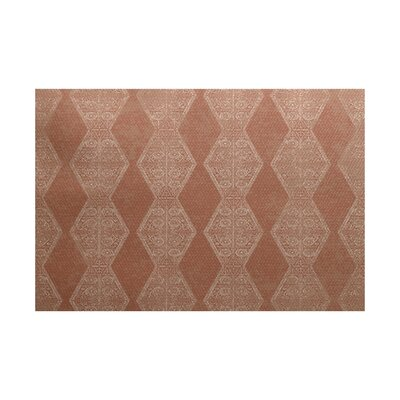 Soluri Brown / Beige Indoor/Outdoor Area Rug Rug Size: 3 x 5