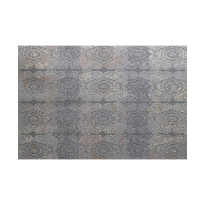 Soluri Gray Indoor/Outdoor Area Rug Rug Size: 4 x 6