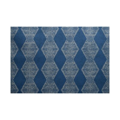 Soluri Blue Indoor/Outdoor Area Rug Rug Size: 3 x 5