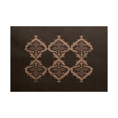 Soluri Brown Indoor/Outdoor Area Rug Rug Size: 4 x 6