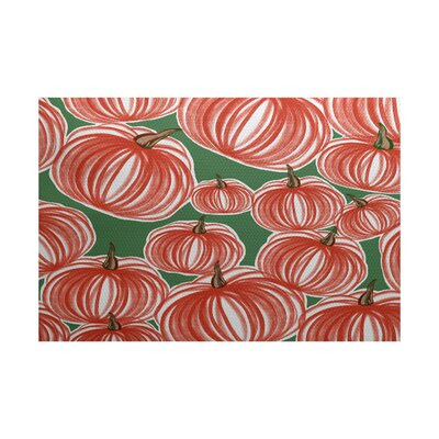 Miller Red Indoor/Outdoor Area Rug Rug Size: 2' x 3'