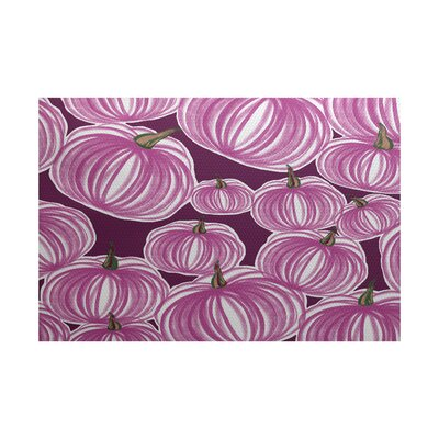 Miller Purple Indoor/Outdoor Area Rug Rug Size: 3 x 5