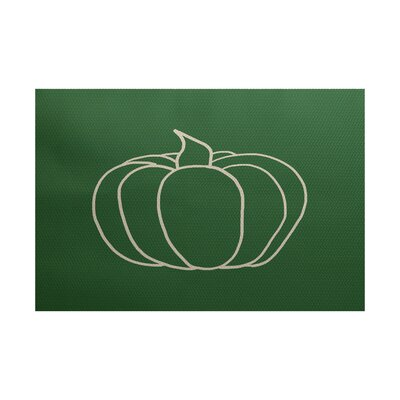 Ingaret Green Indoor/Outdoor Area Rug Rug Size: Rectangle 3' x 5'