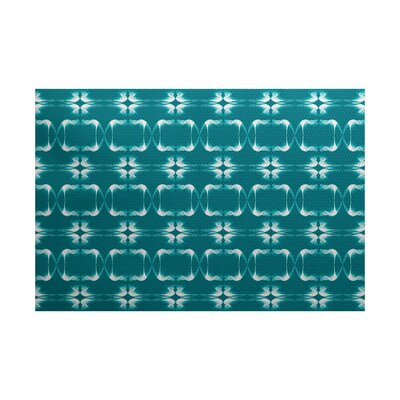 Golden Gate Green Indoor/Outdoor Area Rug Rug Size: 5 x 7